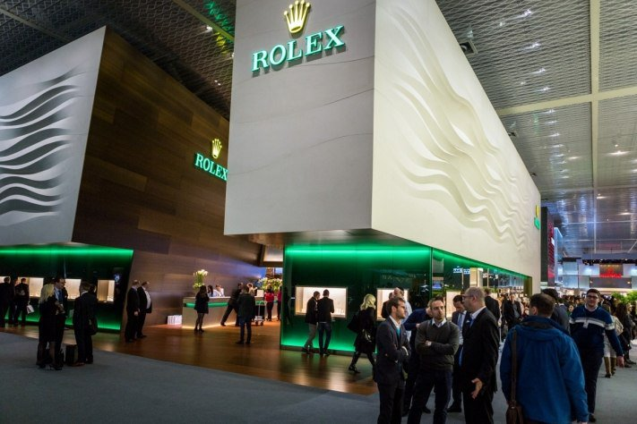 Rolex Booth at Basel World 2016