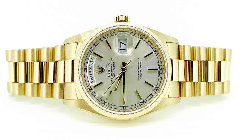 18k yellow gold Rolex President Day-Date