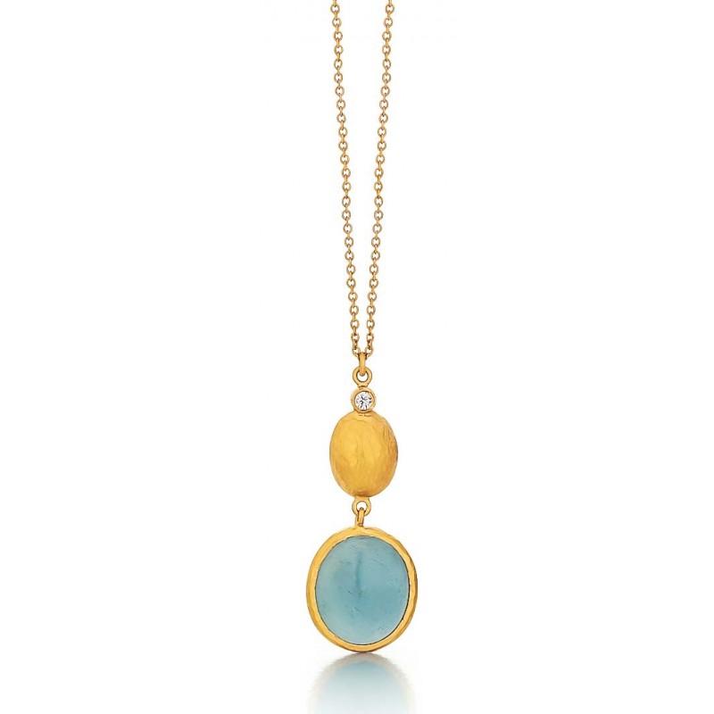 Marika Aquamarine pendant