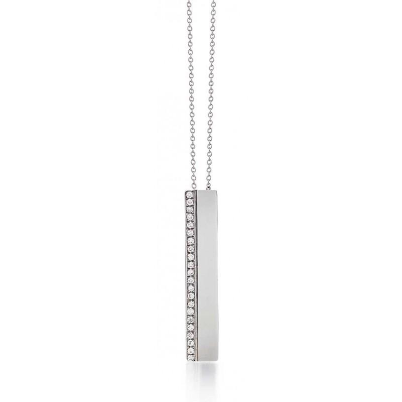 Marika diamond bar pendant