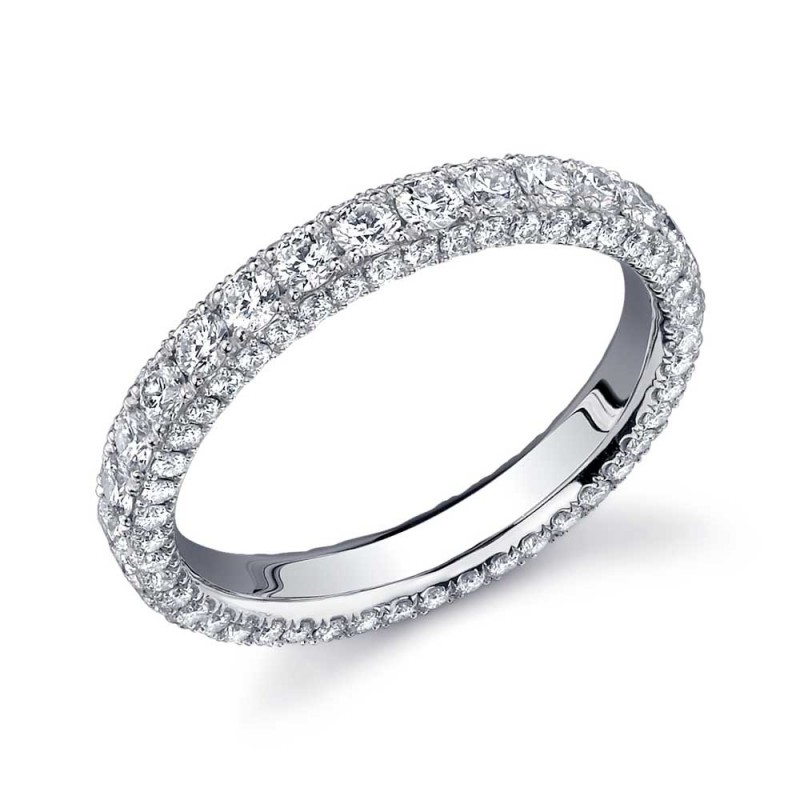 Single Row Two Sided Eternity Band