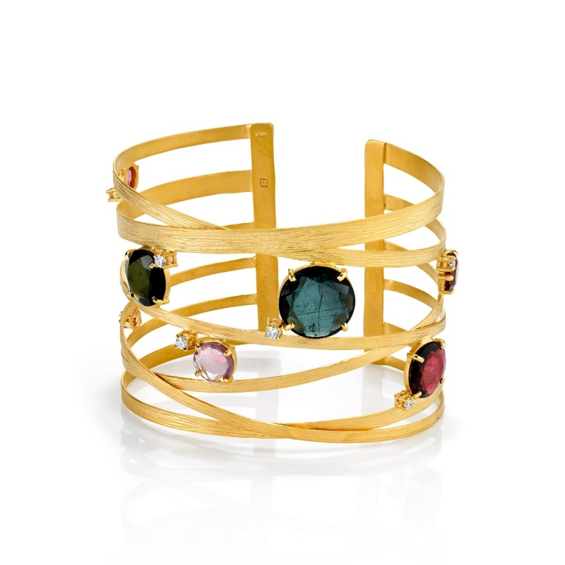 Tourmaline Cuff Bracelet