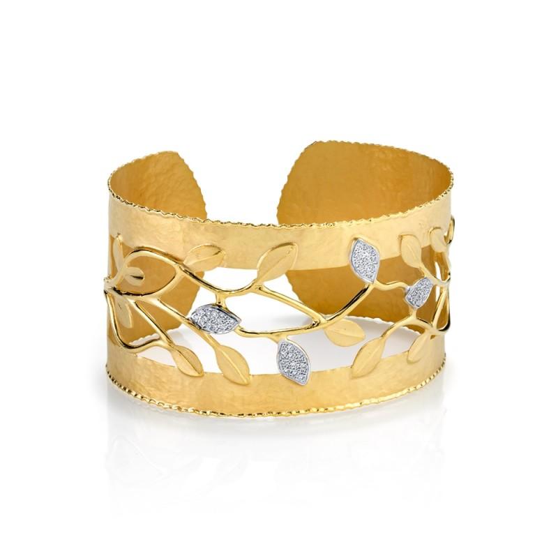Marika Floral Bangle Bracelet