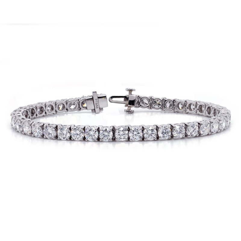 Platinum Diamond Tennis Bracelet 10.33 cttw