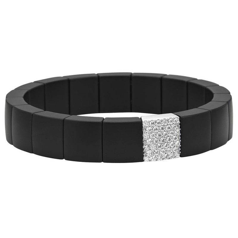 Roberto Demeglio Black Domino Diamond Bracelet