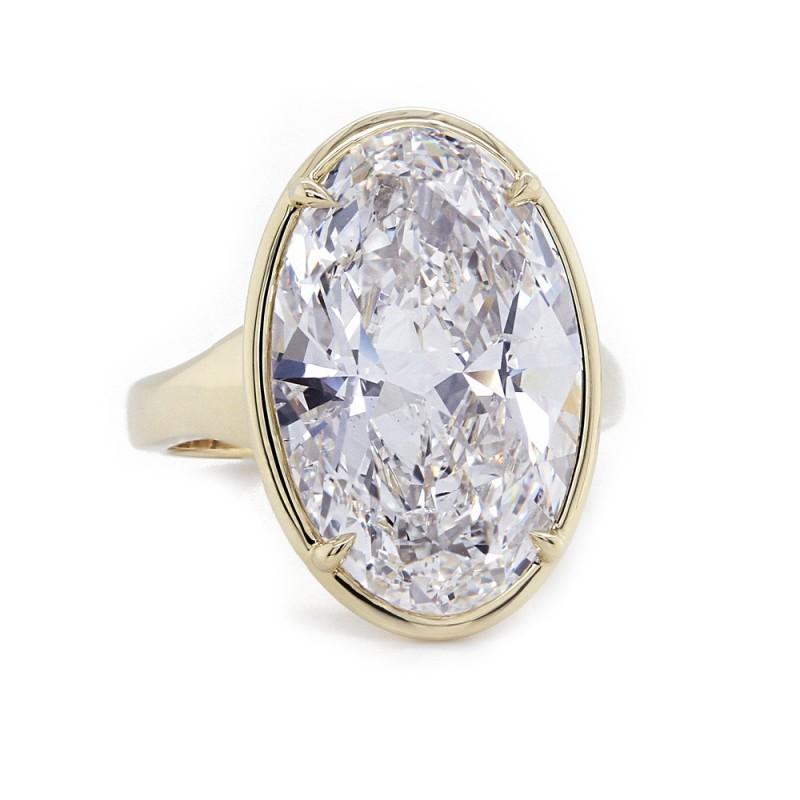 Stunning Oval Diamond Ring