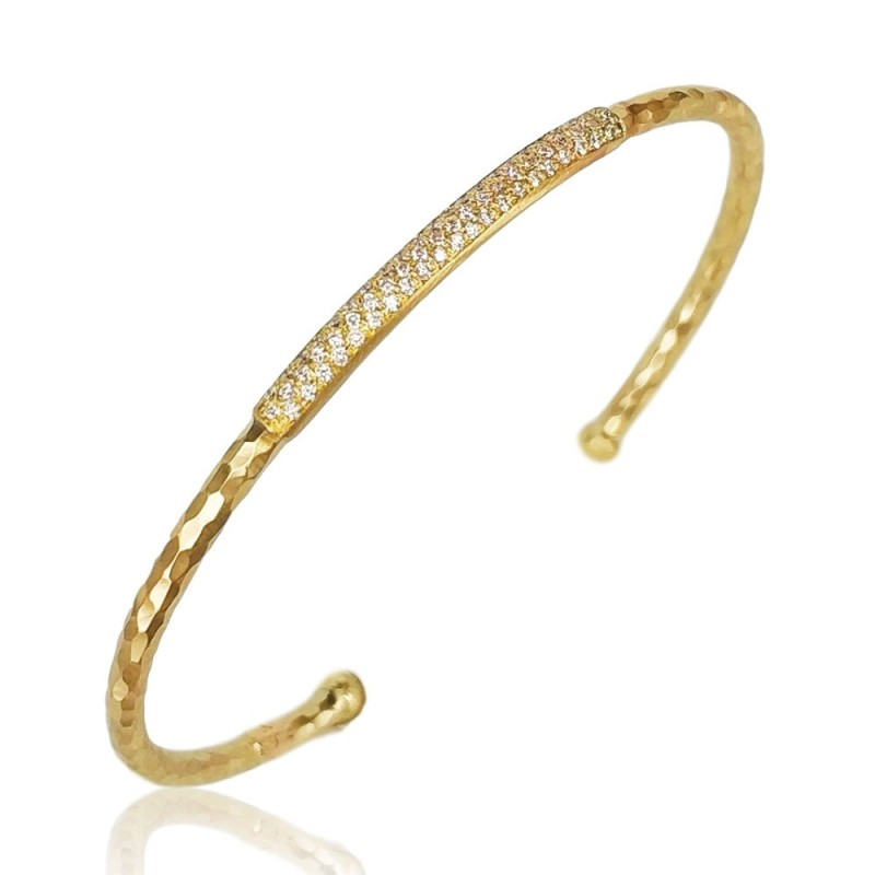 Marika Diamond Bangle Bracelet