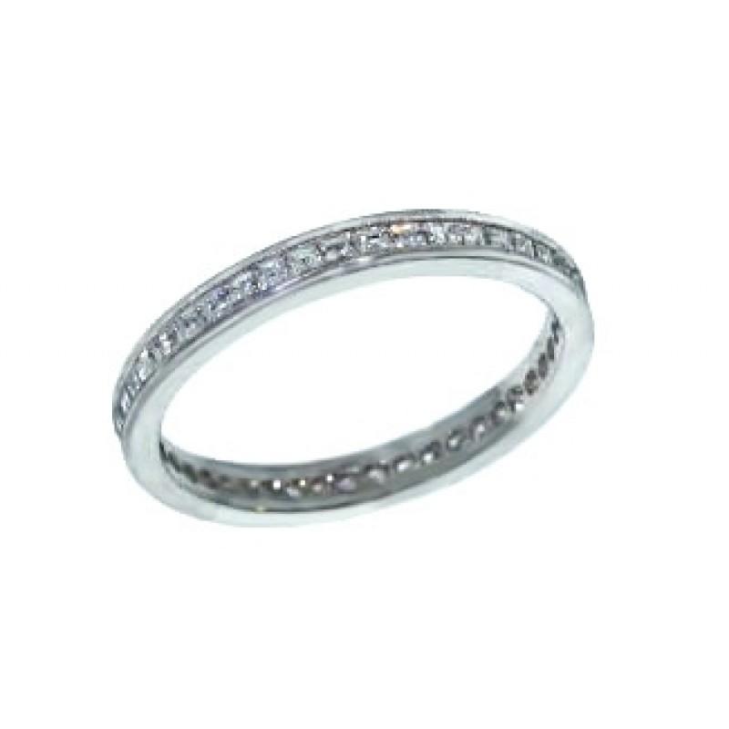 Jeff Cooper asscher diamond eternity band