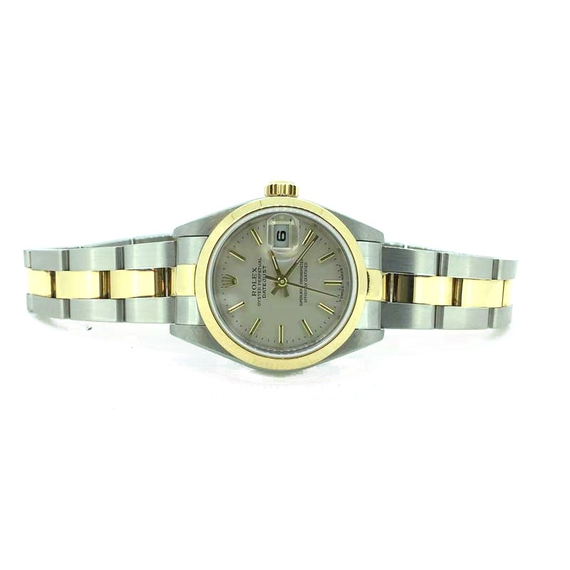 Rolex Lady Datejust 26mm two tone Silver dial and Oyster bracelet