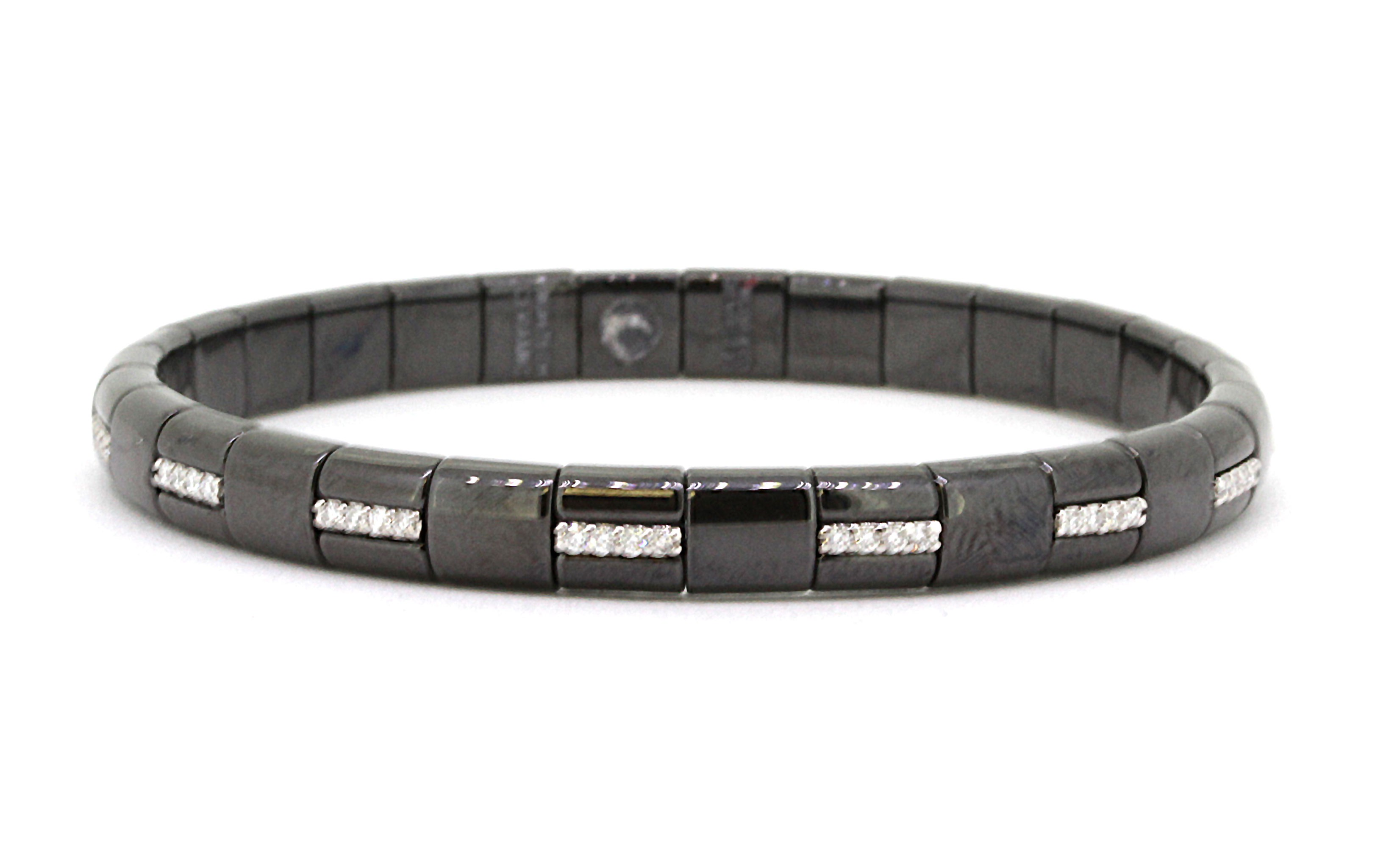 crop the co product subsampling masterpiece masterpieces lucida diamond scale bracelet black ribbons tiffany upscale shop false