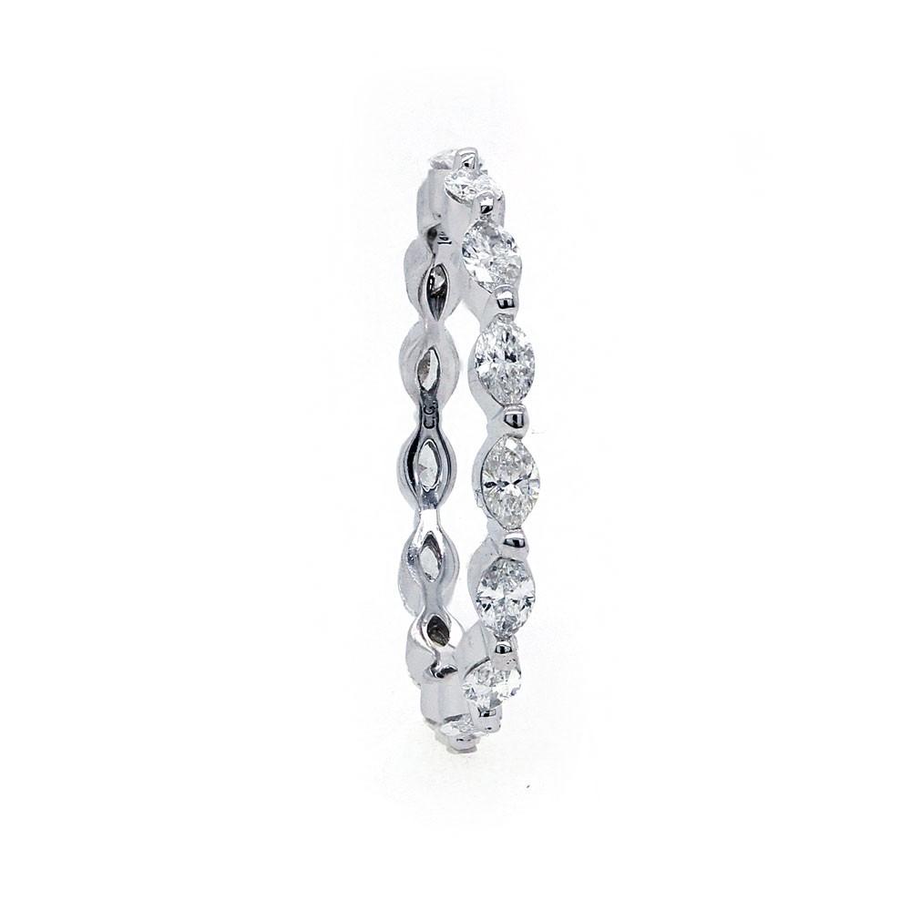 Marquise Diamond Eternity Band Diamond Wedding Bands Ladies Wedding Rings Wedding Rings