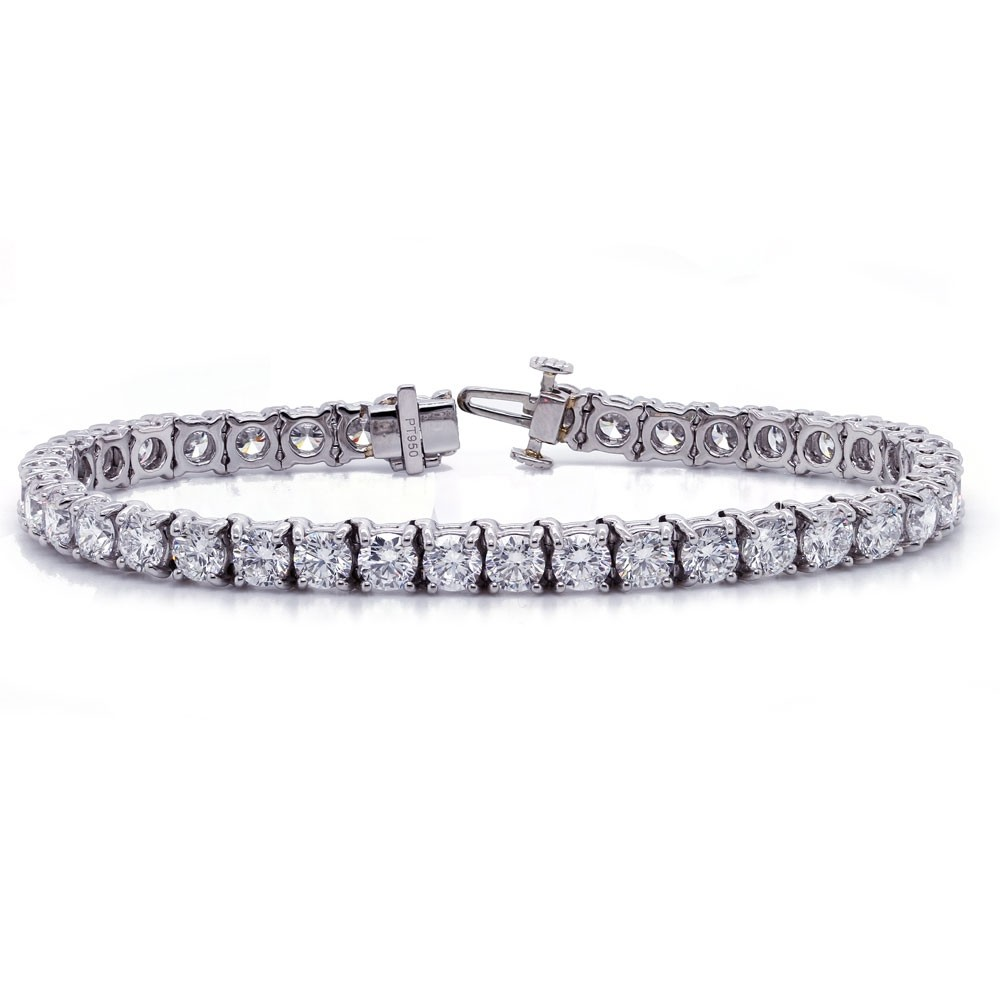Platinum Diamond Tennis Bracelet 11.70 cttw
