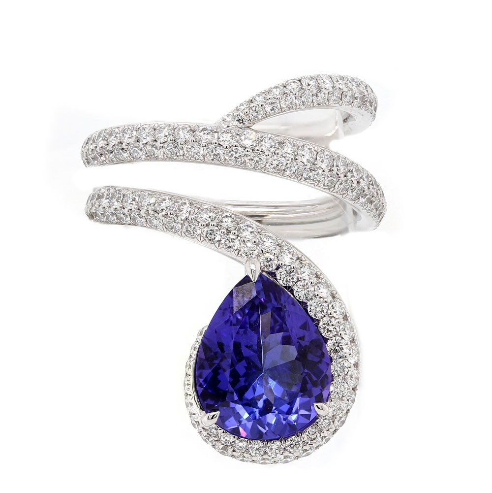 Tanzanite Wrapping Ring