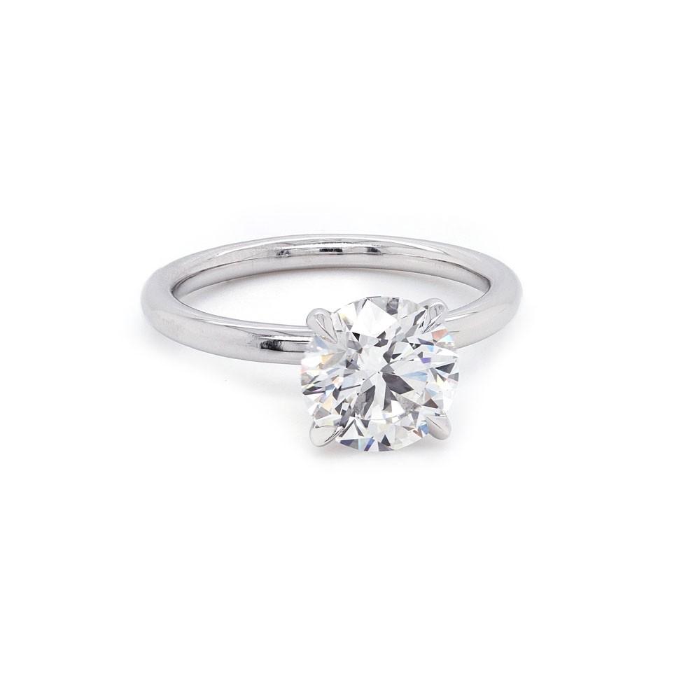 Round Diamond Solitaire Ring 2ct