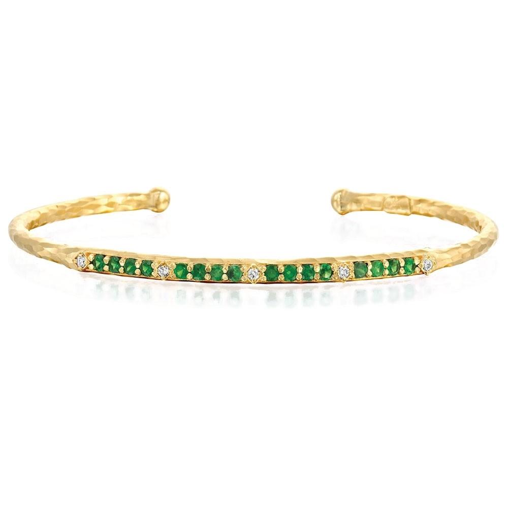 Marika Tsavorite and Diamond Bracelet