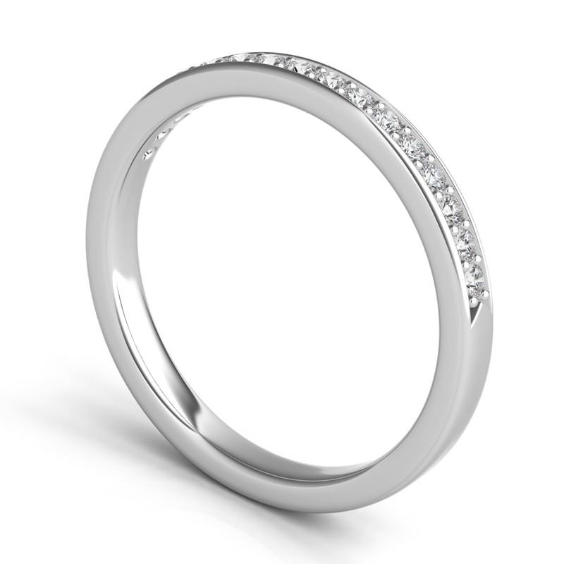Sasha Primak Mutual Prong Part Way Diamond Wedding Band WB94A-PT-Q4