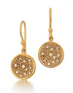 Marika diamond dangle earrings