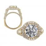 Estate Yellow Gold Diamond Ring