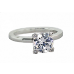 Michael B design solitaire style ring