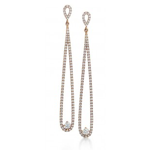 Forevermark Rose Gold Drop Earrings