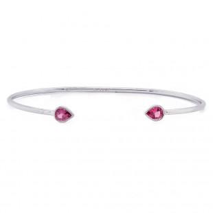 Spinel Cuff Bracelet