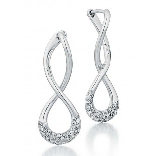 Diamond Twist Earrings