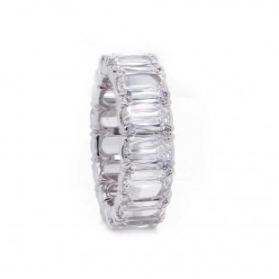 Christopher Lamour Cut Diamond Eternity Band