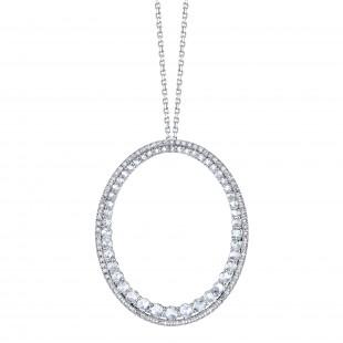 Rose Cut Diamond Pendant