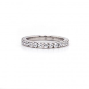 Diamond Pave Band 0.55 cttw