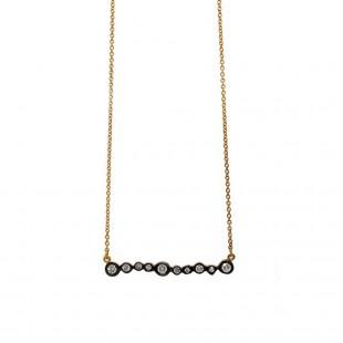 Marika Diamond Bar Necklace