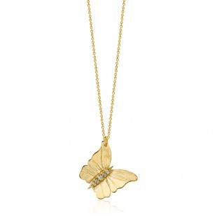 Marika Butterfly Diamond Pendant