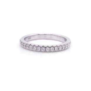 Diamond Pave Band 0.30 cttw