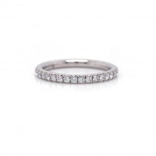 Diamond French Pave Band 0.40 cttw