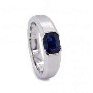 Mens Sapphire Custom Ring