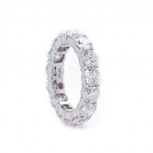 Diamond Eternity Band 6.08 ct twt