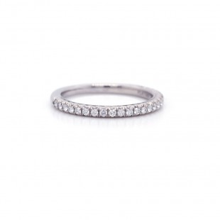 Diamond Pave Band 0.24 cttw