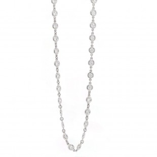 Diamonds by the Yard Style Necklace 1.85ct