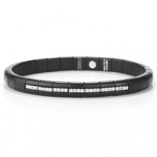 Roberto Demeglio Pura Black Ceramic Diamond Bracelet