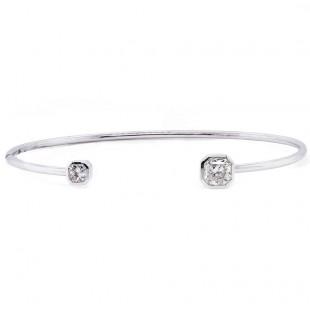 Lucere Cut Diamond Cuff Bracelet