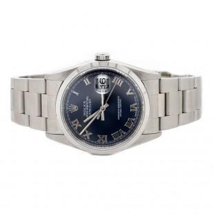 Rolex Datejust Blue Roman