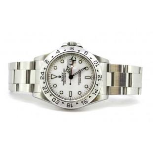 Rolex Explorer II White Dial