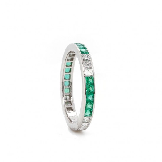 Emerald and Diamond Channel Band
