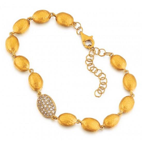 Marika bracelet diamond pave