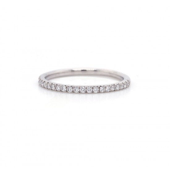 Diamond French Pave Band 0.22 cttw
