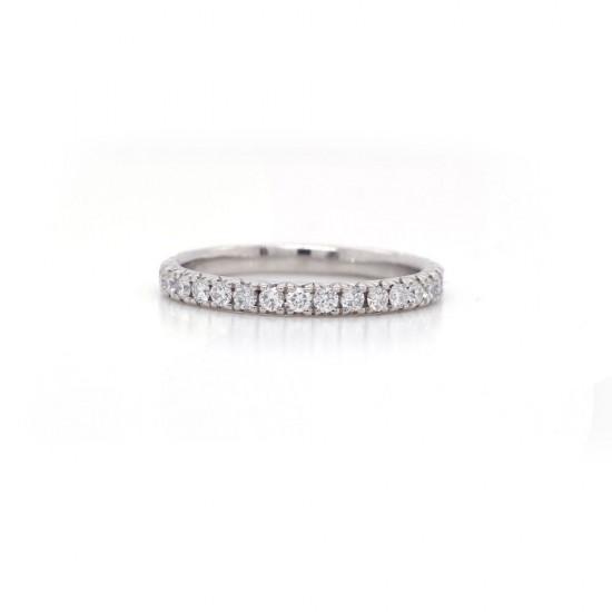 Diamond Pave Band 0.63 cttw