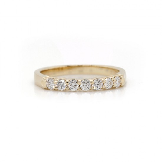 Diamond Shared Prong Band 0.35 cttw