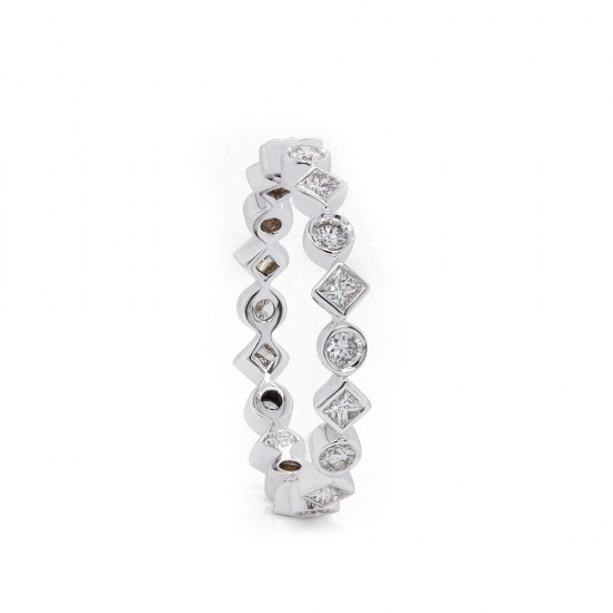 Geometric Diamond Stacking Band
