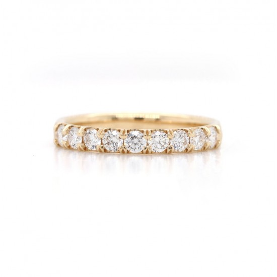 Diamond Shared Prong Band 0.51 cttw