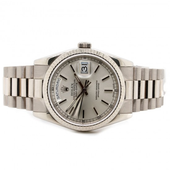 Rolex Day-Date White Gold President