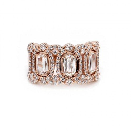 Rose Gold Lamour Diamond Band